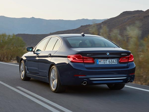 All-New BMW 5 Series Sedan To Be Launched In India During 2017