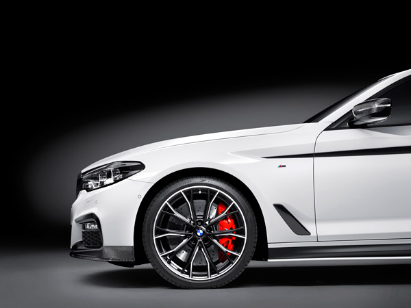 BMW Unveils M Performance Parts For New 5 Series
