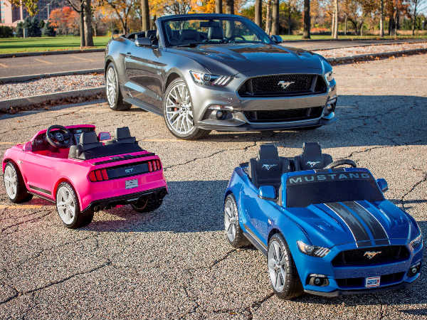 Electric Ford Mustang Unveiled; Coming To A Toy Store Near You In December