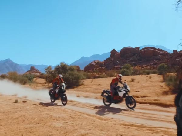 Making Of The KTM Adventure R Promo Video — Terrific Is An Understatement
