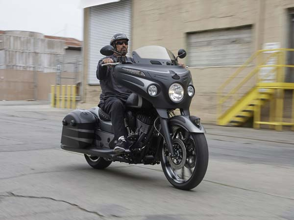 Polaris Launches Indian Chieftain Dark Horse Cruiser Motorcycle