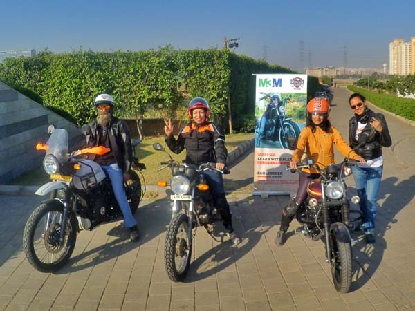 EagleRider India Conducts Its First Women Riders Academy
