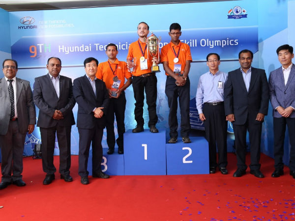 Hyundai India Concludes 9th National Skill Olympics For Dealer Technicians