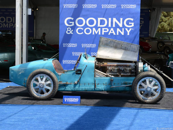 1925 Bugatti Type 35 Grand Prix Racer Heads To Auction