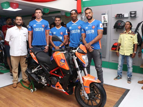 DSK Benelli Celebrate Goa Sales Milestone With Special Livery