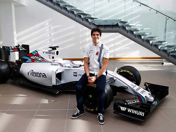 lance stroll at williams racing on merit not a paid f1 seat drivespark news. Black Bedroom Furniture Sets. Home Design Ideas