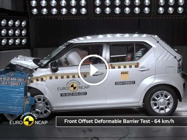 Suzuki Ignis Crash Test Scores Revealed By Euro NCAP