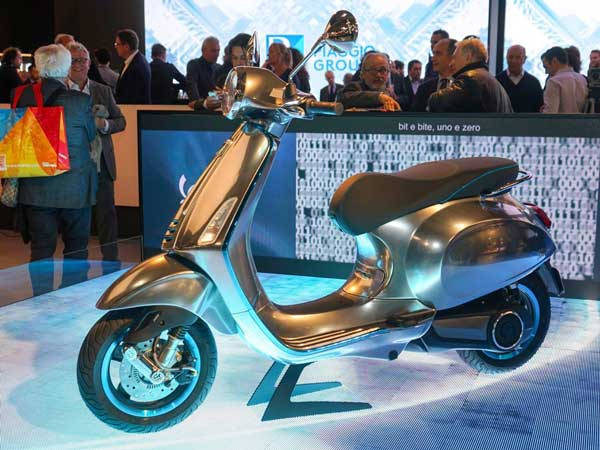 vespa elettrica electric scooter india launch details - drivespark