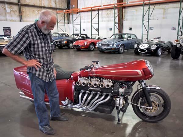 Lamborghini V12 Engined Motorcycle Video Drivespark