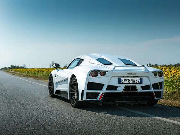 Mazzanti Evantra Gets Another 20bhp And A More Aerodynamic Bodykit