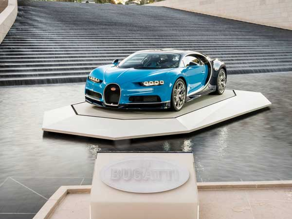 Bugatti Chiron Crashed by Test Driver At Volkswagen Headquarters