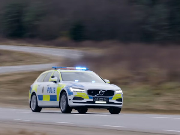 Sweden's Finest Gets Volvo V90 Interceptor To Pull You Over