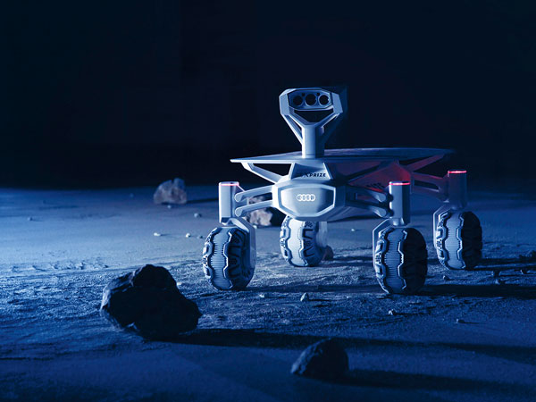 Audi's Lunar Quattro Rover Design Is Complete, Final Testing Remains Before Moon Attempt