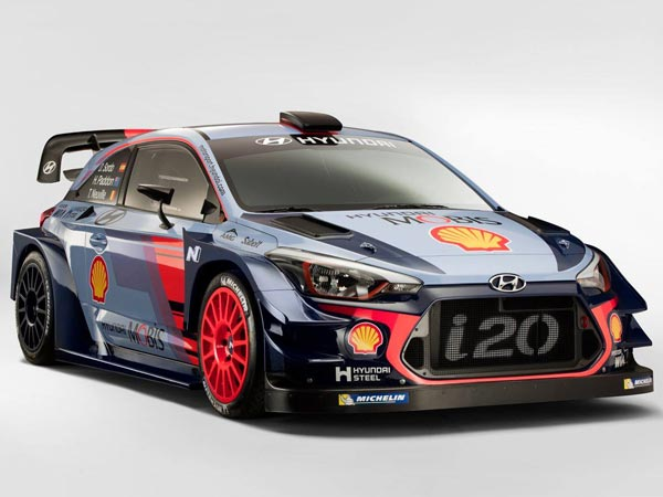 Hyundai Reveals 2017 i20 Coupe WRC In Monza