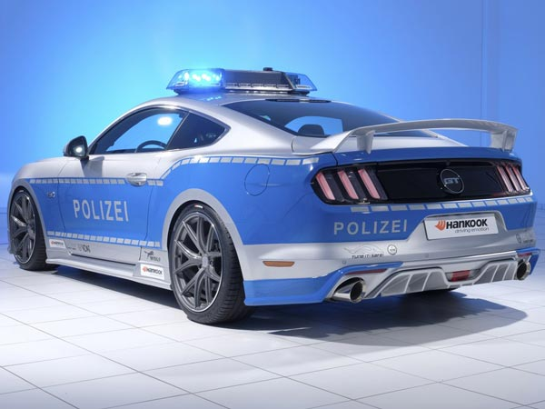 Ford Mustang GT Reporting For Police Duty In Germany