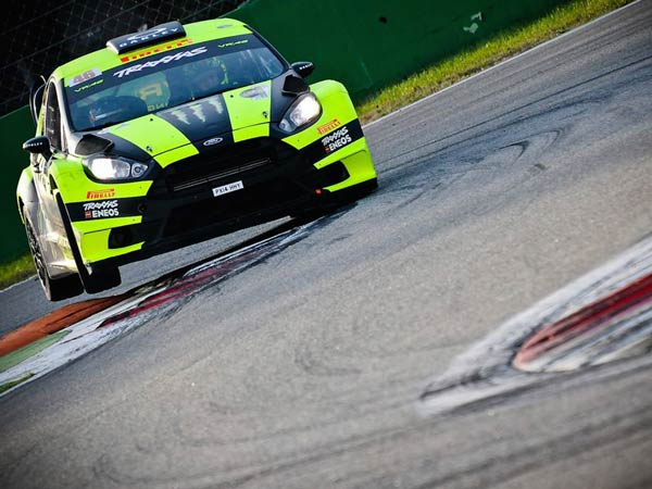 Valentino Rossi Gets Record-Tying Fifth Win In Monza Rally Show