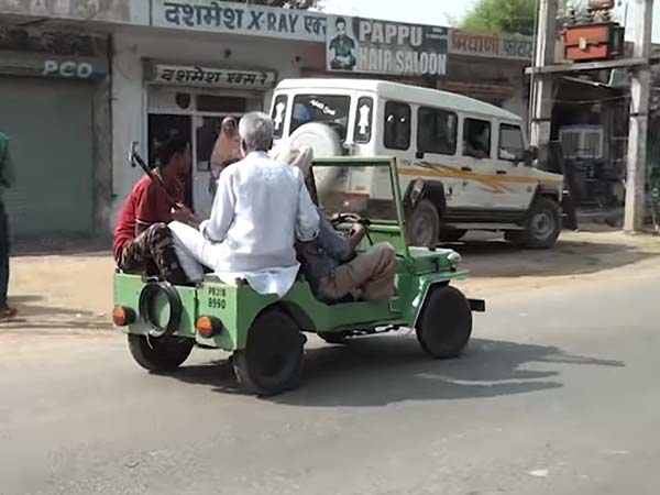60-Year-Old Indian Mechanic Builds The Perfect Miniature Jeep