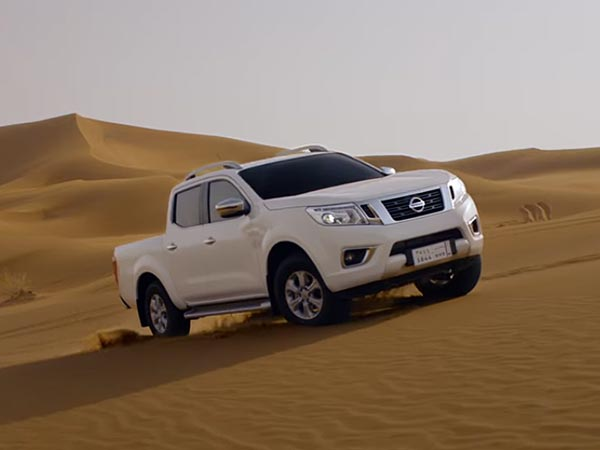 Video: Nissan Advertises The Navara In The Scorching Heat Of Middle East