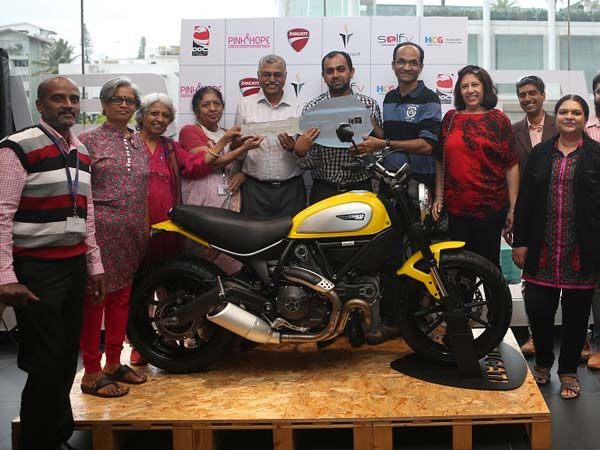 Ducati Owners Club Supports Cancer Awareness With SelfV Survivor Stories