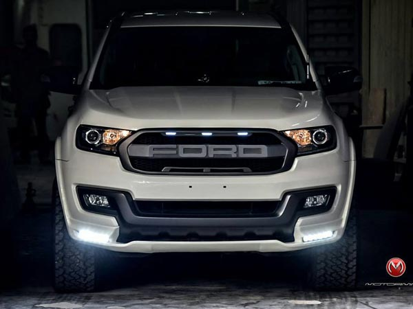 This Customised Ford Endeavour Is A Mean Looking Suv Drivespark