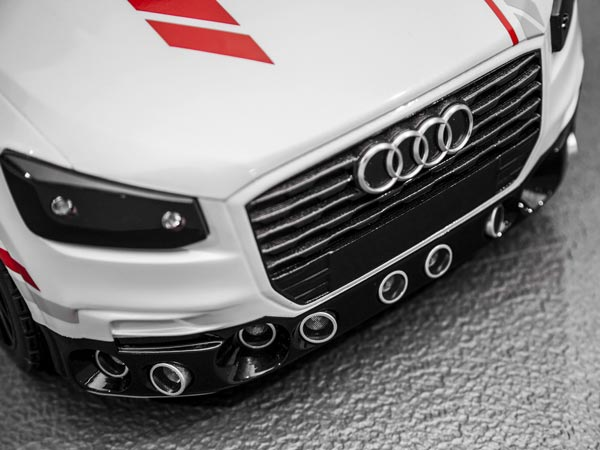 Video: Audi Trains Self Driving Software Using A Toy Car