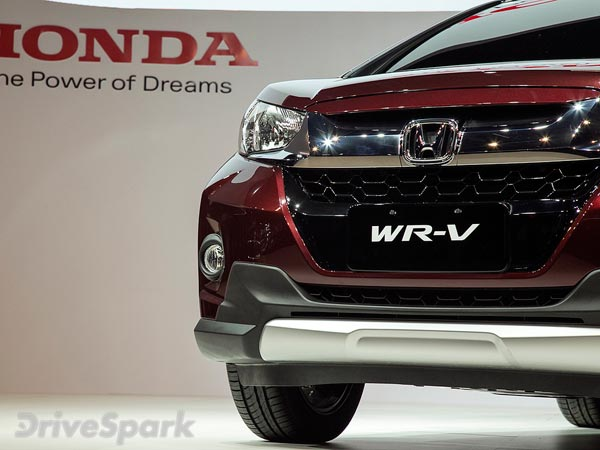 Honda WR-V Crossover SUV India Launch Slated For Mid-2017