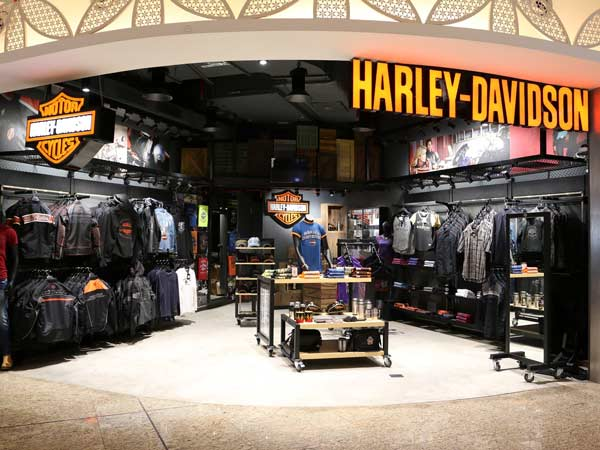 Harley-Davidson Launches Exclusive Showroom At Mumbai Airport