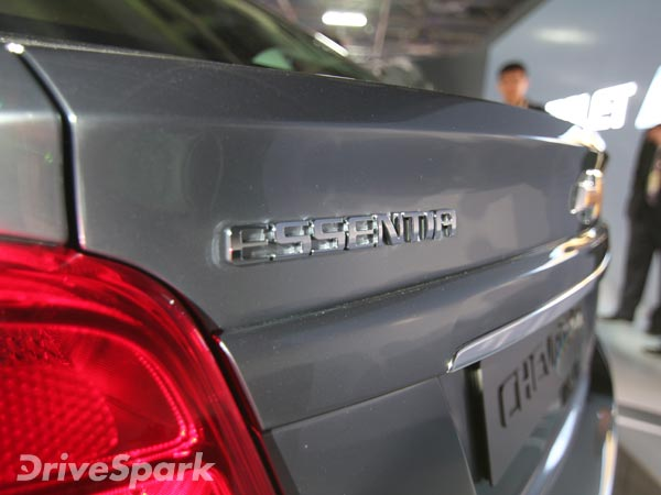 Chevrolet Essentia To Be Launched In India By March 2017