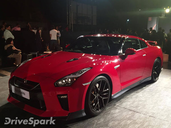 John Abraham With His New Nissan GT-R Black Edition