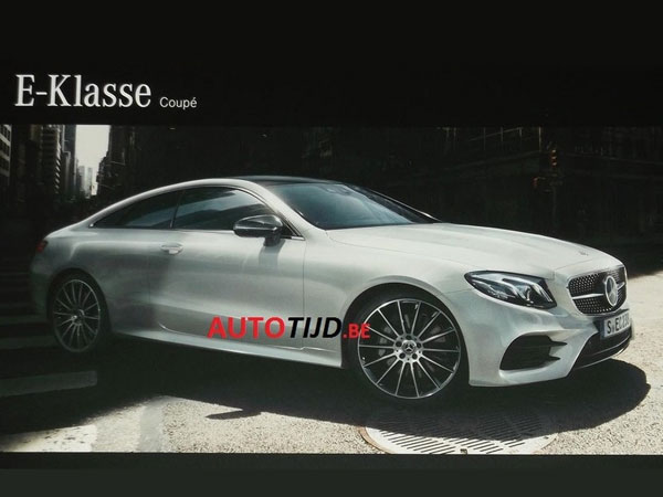New Mercedes E-Class Coupe Revealed Via Leaked Brochure
