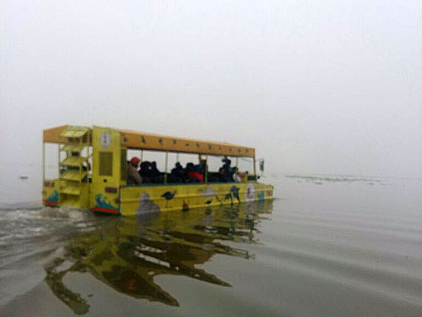 Punjab Gets An Amphibious Bus That Cost A Bomb; Or Is It Just A Boat On Wheels?