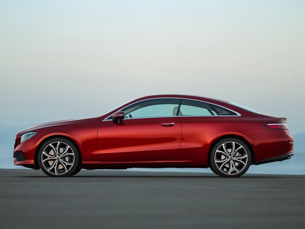 2017 Mercedes E-Class Coupe Unveiled