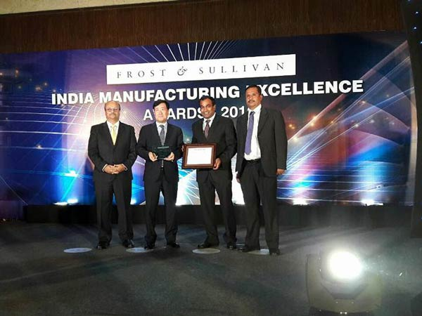 Hyundai Motor India Wins Frost & Sullivan's Manufacturer Of The Year Award