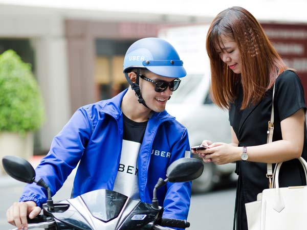 Uber Announced The Launch Of Its Two-Wheeler Sharing Service uberMOTO