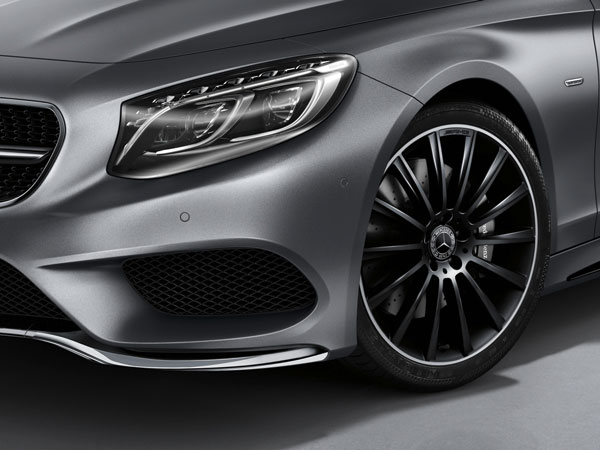 "Life Begins At ""Night"": Mercedes-Benz S-Class Coupe Night Edition"