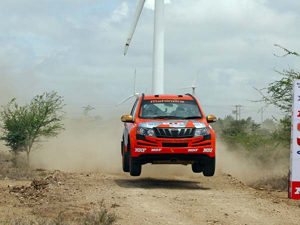 Amittrajit Ghosh Wins The Coveted MRF 42nd K1000 Rally 2016