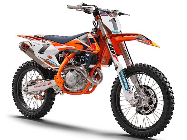 KTM Unveils 2017 SX Factory Edition Models