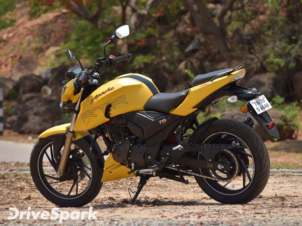TVS Apache RTR 200 4V Is The Indian Motorcycle Of The Year (IMOTY) 2017