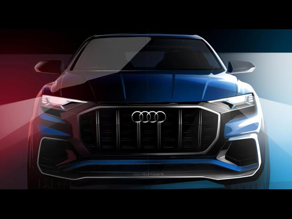 Audi Q8 E-tron Concept Teased Ahead Of Detroit Auto Show Debut