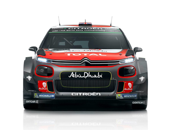 World Rally Championship: 2017 Citroen C3 WRC Breaks Cover In Abu Dhabi