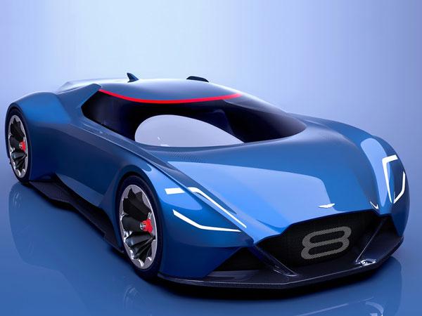 Aston Martin S Supercar For The Future The Vision 8 Drivespark News
