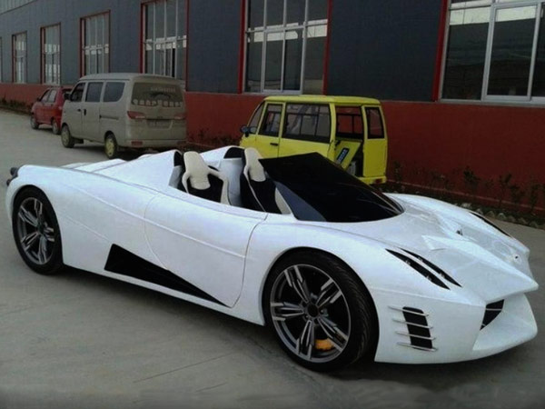 This Chinese Pagani Huayra Rip-Off Has Unbelievable