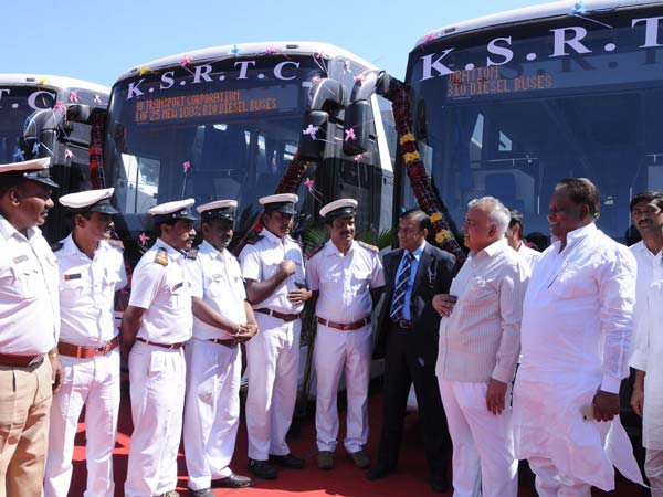 Karnataka State Road Transport Corporation Inducts India's First Bio-Diesel Buses