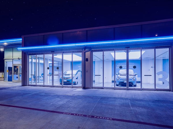 Carvana Opens 8-Story Tall Car Vending Machine In Houston, Texas