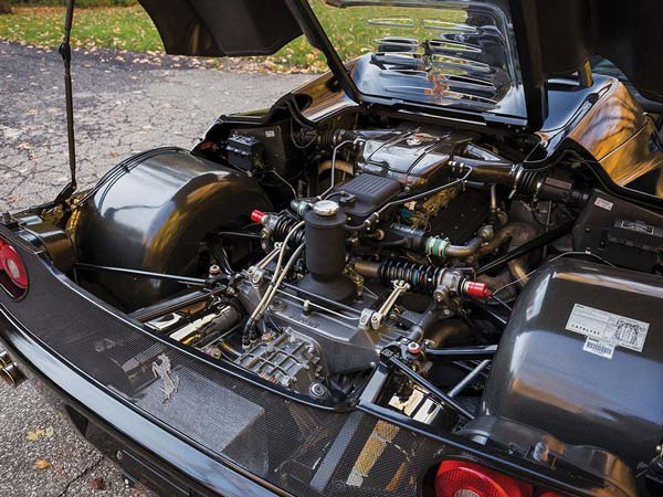 Ultra Rare Black Ferrari F50 Set To Go Up For Auction; Expected To Fetch Around $3 Million