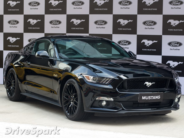 Ford Mustang Launched in Bangalore; Priced At Rs. 66.36 Lakh