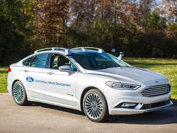 Ford Debuts Next Autonomous Fusion Hybrid — Sleeker And Sees Better