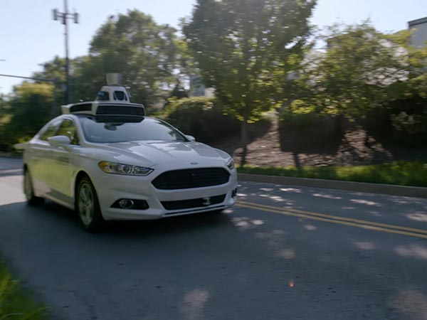 Current-Generation Ford Fusion Hybrid Testing For Uber