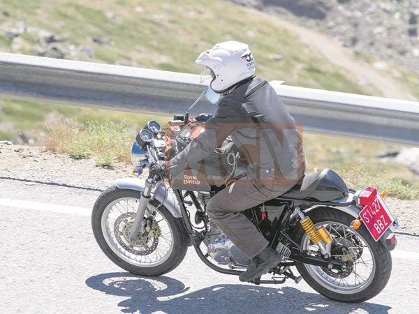 Spied: Royal Enfield Continental GT With ABS