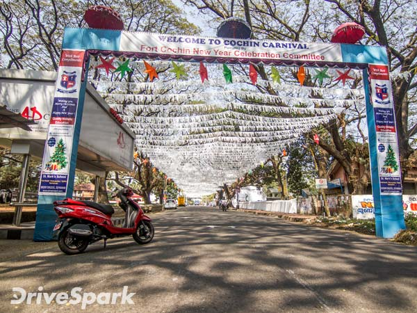 Peace, Love, And Joy At Cochin This Christmas On The TVS Wego